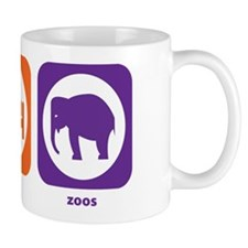 Eat Sleep Zoos Mug