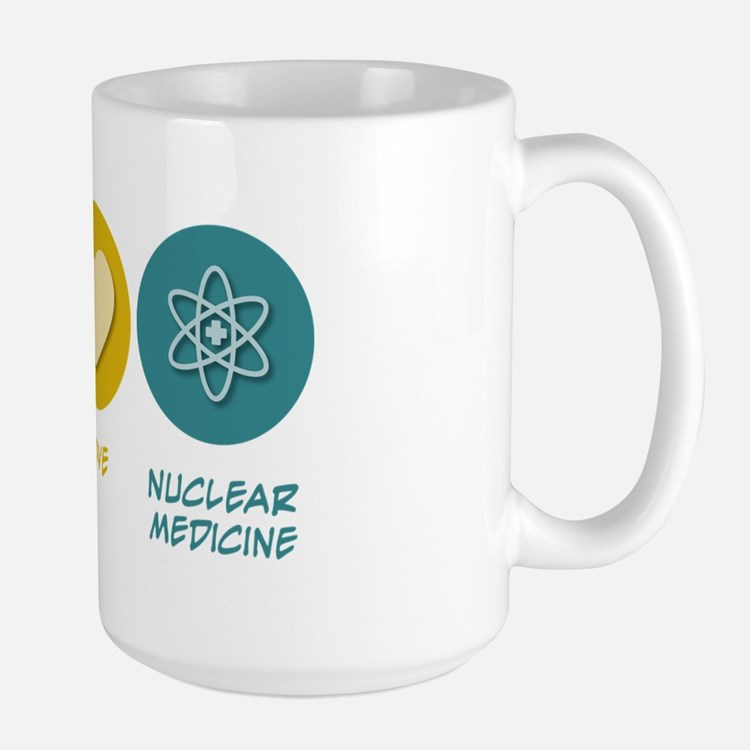 Peace Love Nuclear Medicine Mug