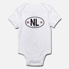 Netherlands Intl Oval Infant Bodysuit