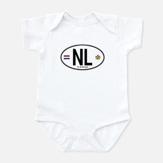Netherlands Intl Oval Infant Bodysuit