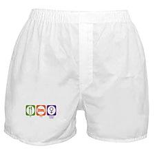 Eat Sleep Women's Studies Boxer Shorts