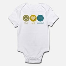 Peace Love Neuroscience Infant Bodysuit