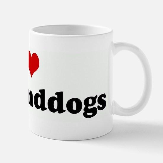 I Love my granddogs Mug
