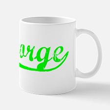 Vintage St George (Green) Mug