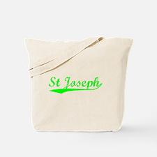 Vintage St Joseph (Green) Tote Bag