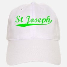 Vintage St Joseph (Green) Baseball Baseball Cap