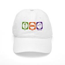 Eat Sleep Web Design Baseball Cap