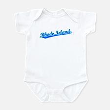 Retro Rhode Island (Blue) Infant Bodysuit