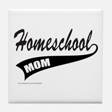 HOMESCHOOL Tile Coaster