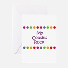 My Cousins Rock Greeting Cards (Pk of 10)