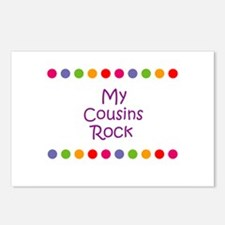 My Cousins Rock Postcards (Package of 8)