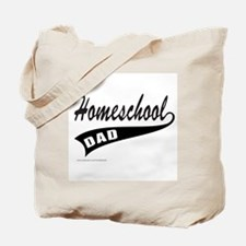 HOMESCHOOL DAD Tote Bag