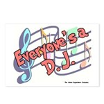 Everyone's a DJ Postcards (Package of 8)