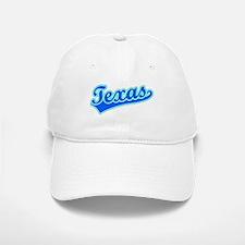 Retro Texas (Blue) Baseball Baseball Cap