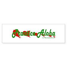Practice Aloha Bumper Bumper Sticker