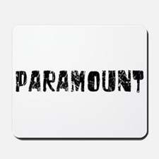 Paramount Faded (Black) Mousepad