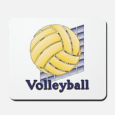 Volleyball Blocks Mousepad