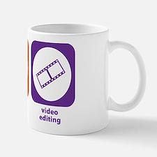 Eat Sleep Video Editing Mug