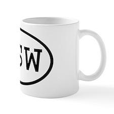 PSW Oval Mug
