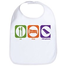 Eat Sleep Vibraphone Bib