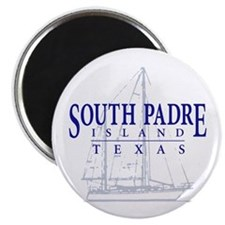 South Padre Sailboat - Magnet