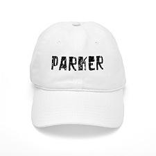 Parker Faded (Black) Baseball Cap