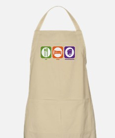 Eat Sleep Ventriloquism BBQ Apron