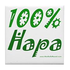 100% Hapa Tile Coaster