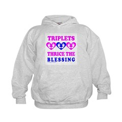 TRIPLETS THRICE THE BLESSING Hoodie