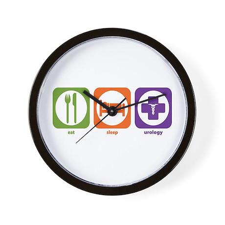 Eat Sleep Urology Wall Clock