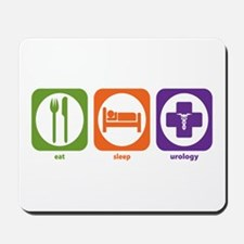 Eat Sleep Urology Mousepad
