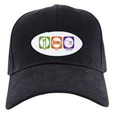 Eat Sleep Trebuchet Baseball Hat