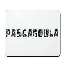 Pascagoula Faded (Black) Mousepad