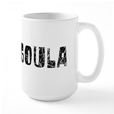 Pascagoula Faded (Black) Mug