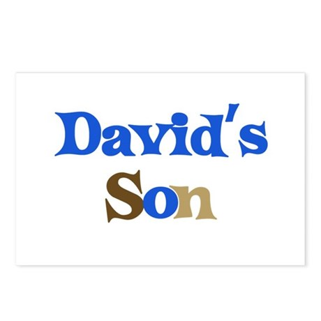 David's Son Postcards (Package of 8)