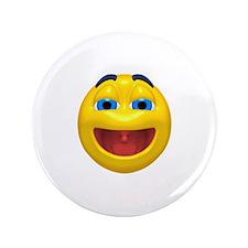 """Super Happy Face 3.5"""" Button"""