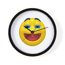 Super Happy Face Wall Clock
