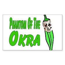 Phantom of the OKRA Rectangle Decal