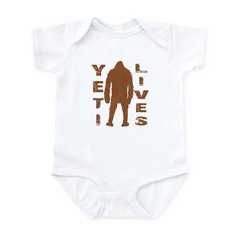 Yeti Lives Infant Bodysuit