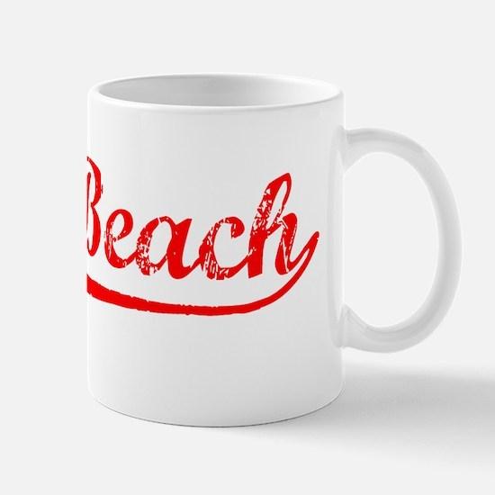 Vintage Seal Beach (Red) Mug
