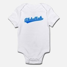 Retro Abdullah (Blue) Infant Bodysuit