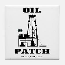 Oil Patch Tile Coaster