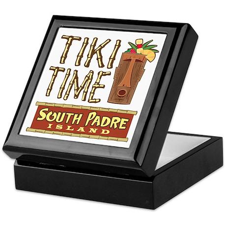 Tiki Time on South Padre - Keepsake Box