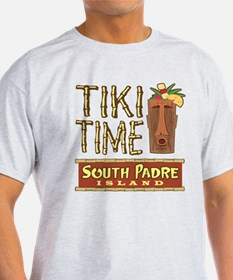 Tiki Time on South Padre - T-Shirt