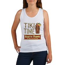 Tiki Time on South Padre - Women's Tank Top