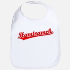 Retro Hamtramck (Red) Bib