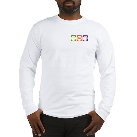 Eat Sleep Tarot Long Sleeve T-Shirt