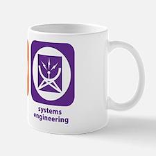 Eat Sleep Systems Engineering Mug
