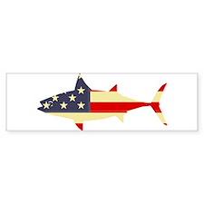 """Patriotic Tunoid"" Bumper Bumper Sticker"