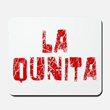 La Quinta Faded (Red) Mousepad